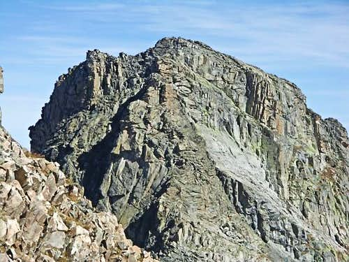 The Initial Buttress of the North Ridge