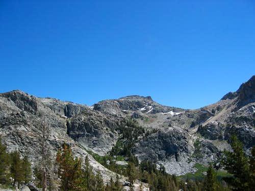 Pettit Peak from the trail...
