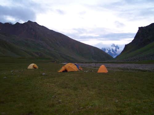 Camp 2 in the Irikchat...