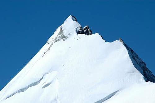 Weisshorn summit taken from...