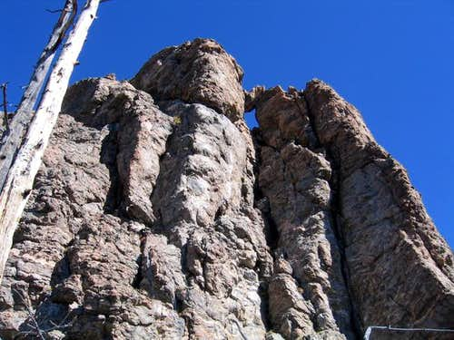 The summit boulders of Tater...