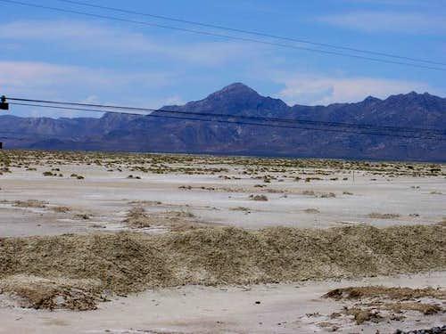 Desert Peak taken from the...
