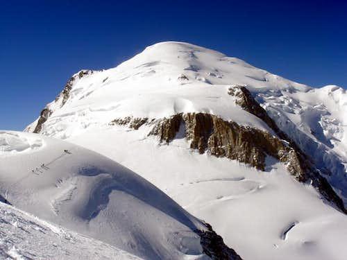 Mont Blanc 4808 metres viewed...