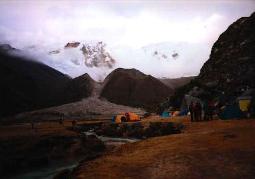 Base Camp in Q. Ishinca, 4.300m