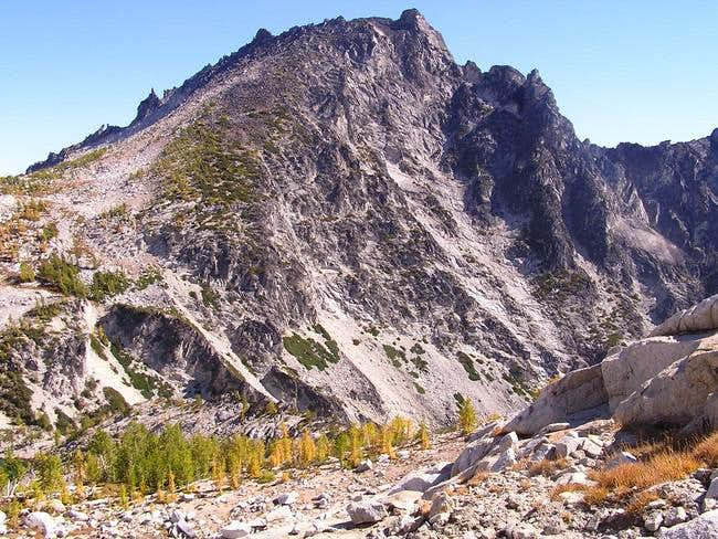 McClellan Peak from Little...