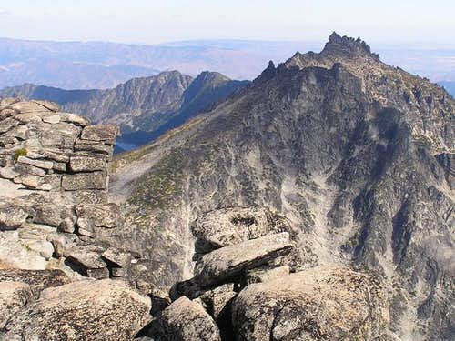 McClellan Peak from the...
