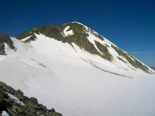 The Brochkogel(3635m) from...