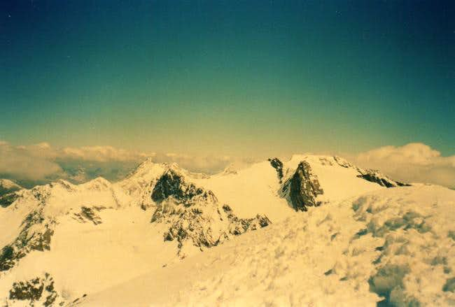 View from the summit, looking...