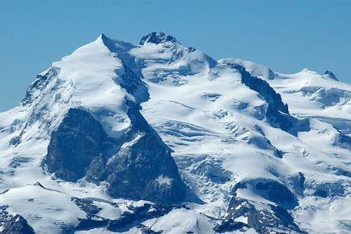 Nordend, Dufourspitze . View...