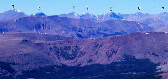 Kings-Emmons Ridge as viewed...