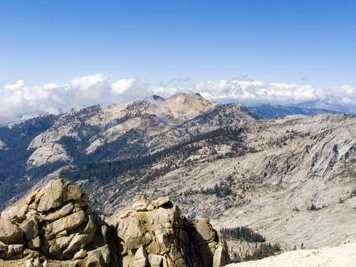 View from Alta Peak Summit...