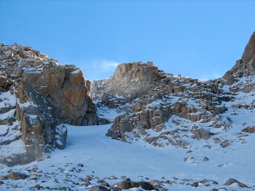 Descent chute from plateau (1...