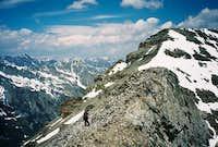 Me on the northwest ridge of...
