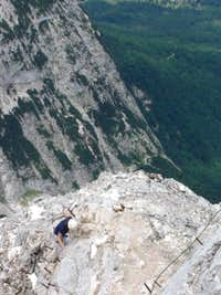 6 July 2006 - Alpspitze via...