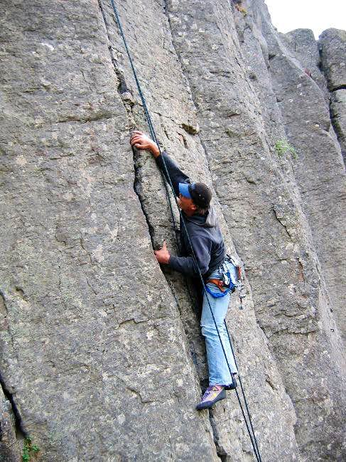 A climber from Seattle...