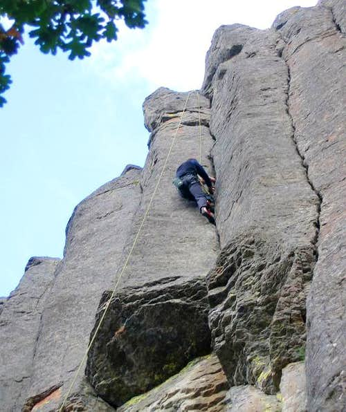 A climber from Seattle TRing...