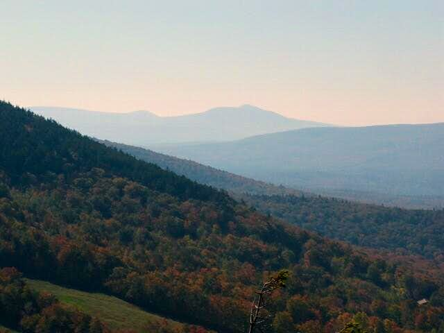 Shot west from Bald Mountain....