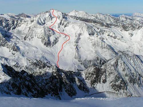 Ruderhofspitze ski tour....