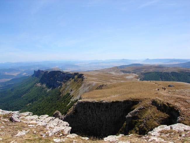 Ridge of Satrústegui