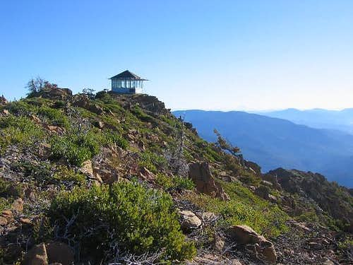 The Pearsoll Peak lookout is...
