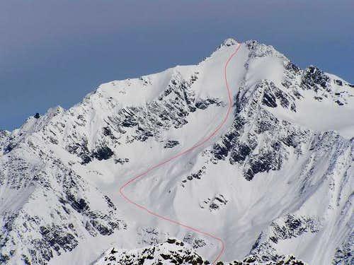 Ruderhof glacier, upper part...