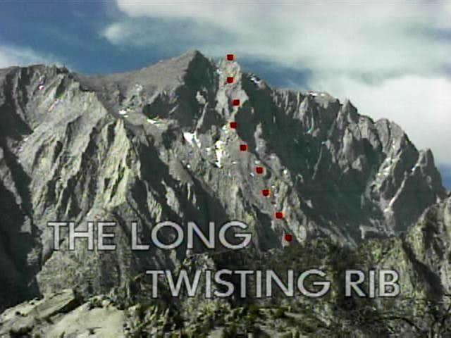 The Long Twisting Rib route (...