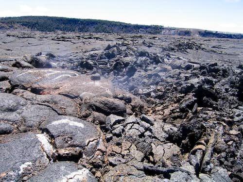 Noxious Sulfur Dioxide fumes...