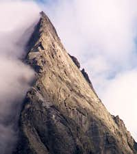 The North Ridge of Pizzo...