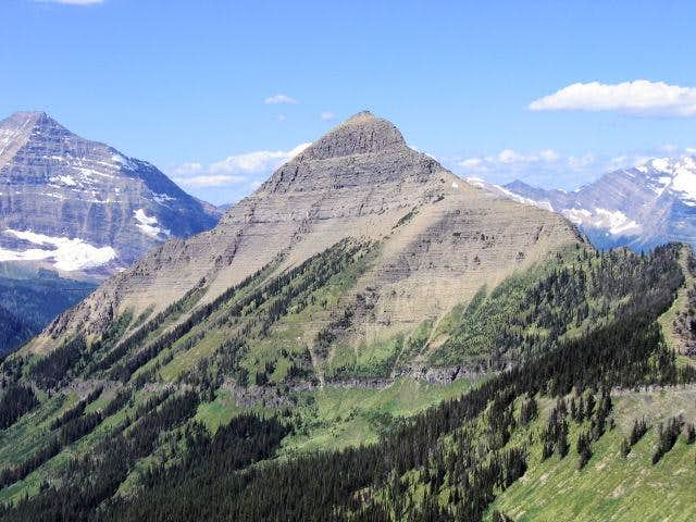 Tinkham Mountain, center. I'm...