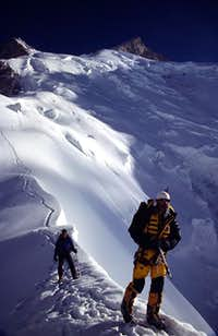 On the left, Gasherbrum III...