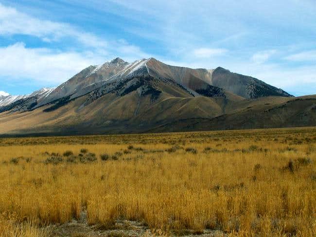 Dickey Peak's southern slopes...