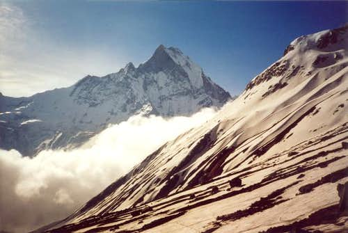 Machhapuchhare from the...
