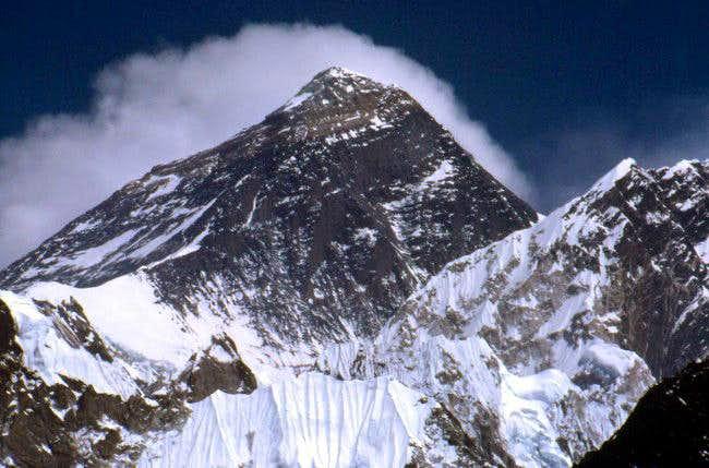 Everest from Gokyo Peak in...