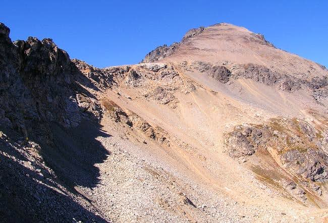 Summit of Maude from the...