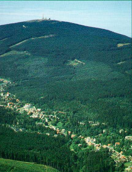 Summit and town of Schierke