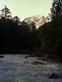 Uzun-Kol river near Poliana...