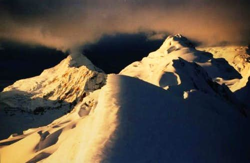 Golden Mountains.  Ishinca...