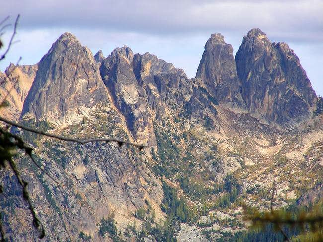 Washington Pass Spires from...