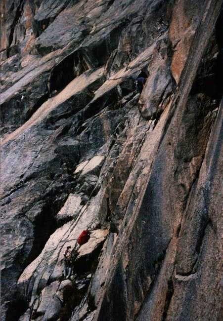 Basque climbers Iñaki and...
