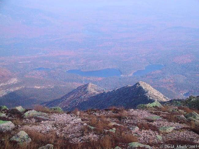 Hamlin Ridge seen from above....