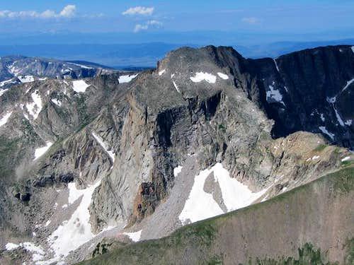 Mount Alice's dramatic east...