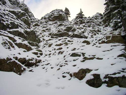 This is the summit scramble...