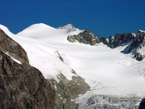 From Mont Avril summit: Pigne...