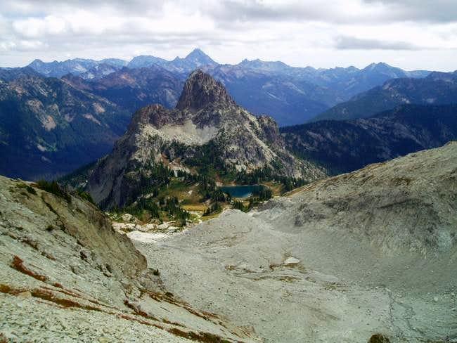 A view of the Southeast Ridge...