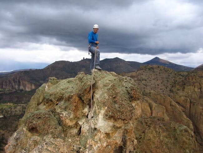 Yours truly atop the West...
