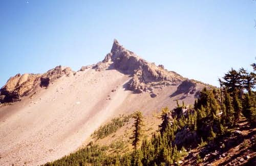 Summit from junction of PCT...