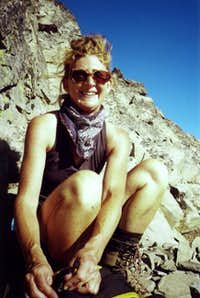 Mary taking a break just...