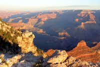 The view of the Kaibab Trail...