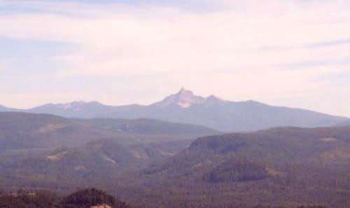 Thielsen from summit of the...
