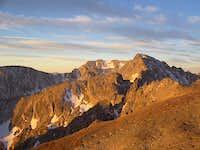 Alpenglow on N. Arapaho Pk....